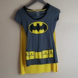 Batman top with cape size small